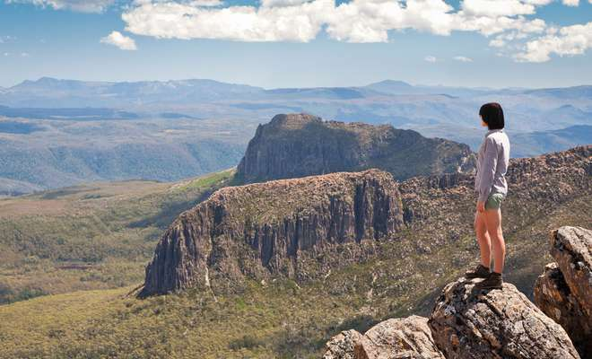 Wild Women On Top Cradle Mountain Adventure Walk